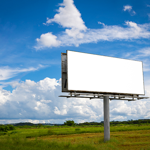 outdoor reklám